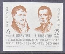 Argentina  839  **   STAMP  EXPO. - Unused Stamps