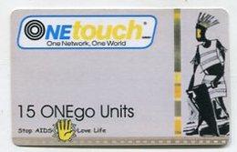 TK9540 GHANA - Prepaid One Touch - Thin Card - Backside No Bar Code