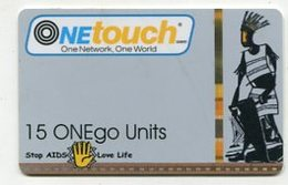 TK9541 GHANA - Prepaid One Touch - Thick Card - Backside No Bar Code