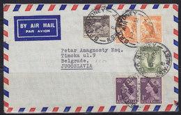 Australia 3.V.1954 Airmail Letter Sent From Sydney To Beograd (Yugoslavie) - Airmail