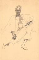 AFRIQUE  GUINEE PORTUGAISE  MAMADU SISSE - REGULE   ILLUSTRATEUR EDUARDO MALTA  EXPOSITION PARIS 1937 - Guinea-Bissau
