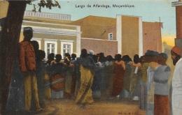 AFRIQUE  MOZAMBIQUE  LARGO DA ALFANDEGA   MOCAMBIQUE - Mozambique
