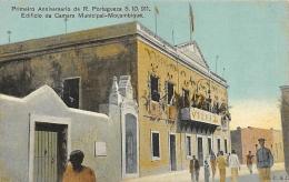 AFRIQUE  MOZAMBIQUE  PRIMEIRO ANNIVERSARIO DA R. PORTUGEZA 5.10.911  EDIFICIO DA CAMERA MUNICIPAL  MOCAMBIQUE - Mozambique