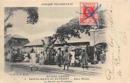 AFRIQUE  GAMBIE  RIVIERE GAMBIE  SAINTE MARIE DE BATHURST  ALBERT MARKET ( LE MARCHE AUX PROVISIONS ) - Gambie
