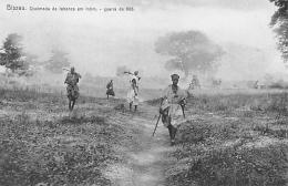 AFRIQUE  GUINEE - BISSAU   BISSAU   QUEIMEDA DA TABANCA EM INTIM   GUERRA DE 1908 - Guinea Bissau