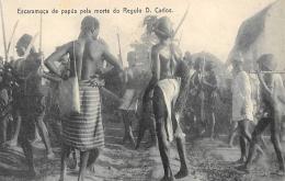 AFRIQUE  GUINEE - BISSAU   ESCARAMUCA DE PAPUS PELA MORTE DO REGULO D. CARLOS - Guinea-Bissau