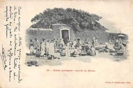 AFRIQUE  GUINEE - BISSAU   MARCHE DE BISSAU - Guinea-Bissau