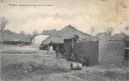 AFRIQUE  GUINEE - BISSAU    BISSAU  CONSTRUCCAO D'UMA CAZA DE GRUMETE - Guinea-Bissau