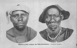 AFRIQUE  MALAWI  MISSION DU SHIRE DES PERES MONTFORTAINS   VIEILLARDS INDIGENES - Malawi