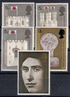 Gran Bretaña  569/573 ** MNH. 1969 - 1952-.... (Elizabeth II)