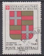SMOM Sovereign Military Order Of Malta Mi 175 - Coats Of Arms Of The Grand Masters - Bertrand De Thessy - 1980 - Malta (Orde Van)