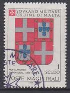 SMOM Sovereign Military Order Of Malta Mi 178 - Coats Of Arms Of The Grand Masters - Alphonse De Portugal - 1980 - Malta (Orde Van)