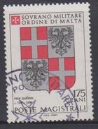 SMOM Sovereign Military Order Of Malta Mi 205 - Coats Of Arms Of The Grand Masters - Gučrin - 1982 - Malta (Orde Van)