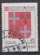 SMOM Sovereign Military Order Of Malta Mi 252 - Coats Of Arms Of The Grand Masters - Roger De Pins - 1986 - Malta (Orde Van)