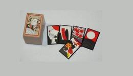 "Angel Shoji Hanafuda  "" Genroku "" Set    ( Black ) - Group Games, Parlour Games"