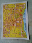 D146409  MAP CARTE Hungary Balatonfüred - Landkaarten