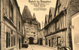 LA FERTE BERNARD(HOTEL DU DAUPHIN) - La Ferte Bernard