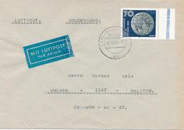 KARL-MARX-STADT - 1990 , XXXXI. Kongress Der IAF In Dresden - Brief Nach Ungarn - Cartas