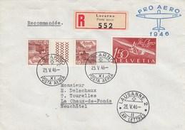 Suisse - Lettre/Planneur -  23/05/1946 - YT PA 40