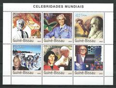 Guinea Bissau / Guinée-Bissau 2003 Famous People.C.Darwin,N.Copernicus, Pope John Paul I,sciences...MNH
