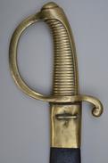 Sabre Briquet D'infanterie Modèle An XI De Versailles (1815) - Armi Bianche