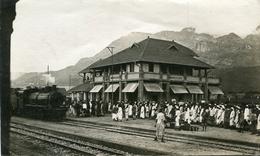 TANZANIE(PHOTO) MOROGORO(GARE) TRAIN - Tanzanie