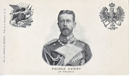 GERMANY  PRUSSIA  PRINCE  HENRY  1898  P.C. - Prussia