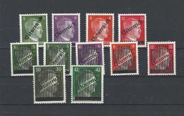 Mi. Nr. 660 - 663; 668 - 673 Postfrisch, Mi. 92,--
