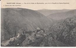 Dep 26 - Saint Uze - Vue  De La Vallée Rochetaillée , Prise De La Chapelle De Sainte Euphémie : Achat Immédiat - Other Municipalities
