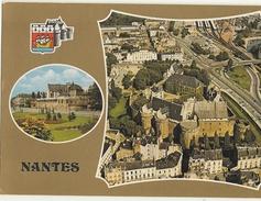 NANTES -  Château Des Ducs  Deux Vue    53 - Nantes