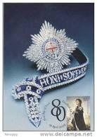 Australia-2006 Queen Elizabeth Birthday,50c Order Of The Garter   Maximum Card - Maximum Cards