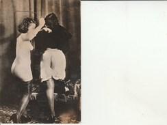 Nues-Femmes Nues-Cravache. - Nus Adultes (< 1960)