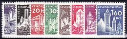 ** Tchécoslovaquie 1960 Mi 1185-92 (Yv 1068-75), (MNH)