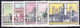 ** Tchécoslovaquie 1960 Mi 1211-5 (Yv 1094-8), (MNH)