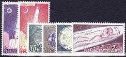 ** Tchécoslovaquie 1961 Mi 1252-7 (Yv 1132-7), (MNH)