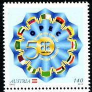 XF0512 Austria 2010 OPEC Organization Flag 1v MNH - 2010-... Elizabeth II