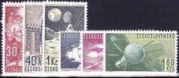 ** Tchécoslovaquie 1962 Mi 1329-34 (Yv 1208-13), (MNH)
