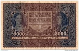 BANQUE DE POLOGNE 5000 - Pologne