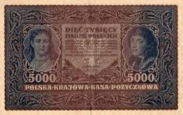 BANQUE DE POLOGNE 5000 - Polonia