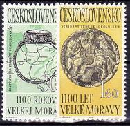 ** Tchécoslovaquie 1963 Mi 1407-8 (Yv 1277-8), (MNH)