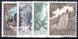 ** Tchécoslovaquie 1963 Mi 1418-21 (Yv 1284-7), (MNH)