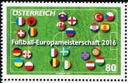 XF0517 Austria 2016 European Cup 1v MNH - Nuovi