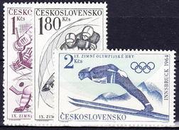 ** Tchécoslovaquie 1964 Mi 1447-9 (Yv 1315-7), (MNH)