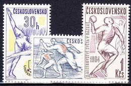 ** Tchécoslovaquie 1964 Mi 1450-2 (Yv 1318-20), (MNH)
