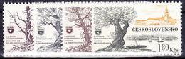 ** Tchécoslovaquie 1964 Mi 1453-6 (Yv 1321-4), (MNH)