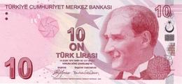 TURQUIE 10 TURK LIRASI 2009 P-223a NEUF SIGN. YILMAZ & GÖKLEMEZ. PRÉFIXE A [TR301a] - Turkey