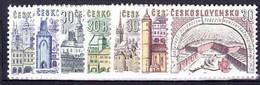 ** Tchécoslovaquie 1965 Mi 1508-14 (Yv 1374-80), (MNH)