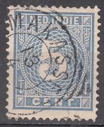 NETHERLANDS INDIES     SCOTT NO. 22    USED        YEAR  1883 - Niederländisch-Indien