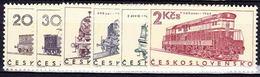 ** Tchécoslovaquie 1966 Mi 1603-8 (Yv 1467-72), (MNH)
