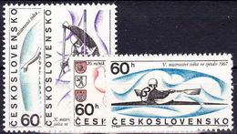 ** Tchécoslovaquie 1967 Mi 1701-4 (Yv 1556-9), (MNH)